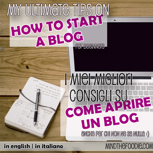 HOW TO START A BLOG – the easy way!