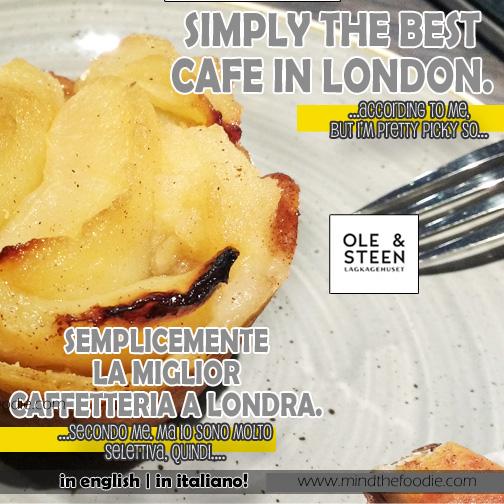 OLE & STEEN Bakery LONDRA | Dolci magnifici e posto bellissimo!