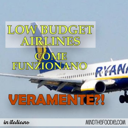 LOW BUDGET AIRLINES | COME FUNZIONANO VERAMENTE?