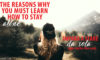 THE REASON WHY YOU MUST LEARN HOW TO STAY ALONE