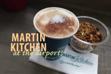 MARTIN KITCHEN at the airport |British Food & Coffee