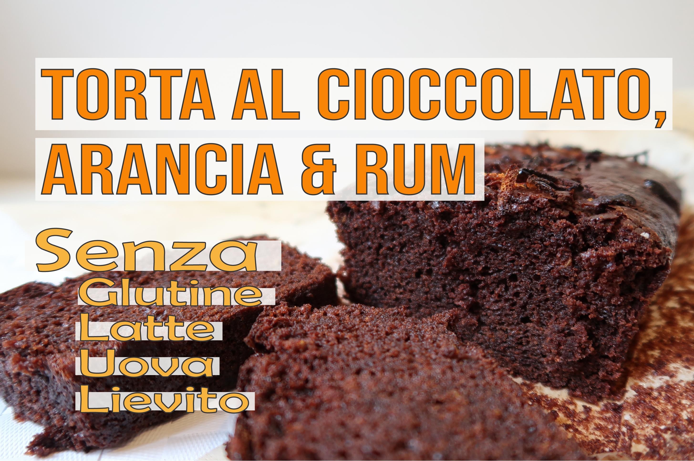 Chocolate, Orange & Rum Cake